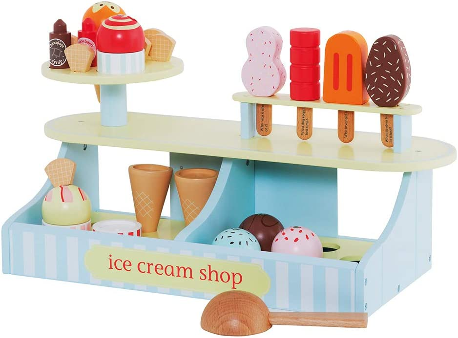 Great Little service Trading Co. Wooden Ice Shop Toy 5 ☆ popular Cream Toys