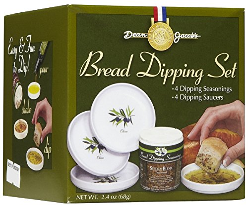 Dean Jacob's 5 Piece Melamine Bread Dipping Set