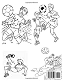 Zoom IMG-1 soccer coloring book football colouring