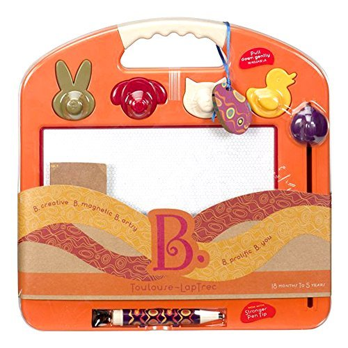 B. Toulouse Laptrec Magnetic Drawing Board - Tangerine Orange by B.