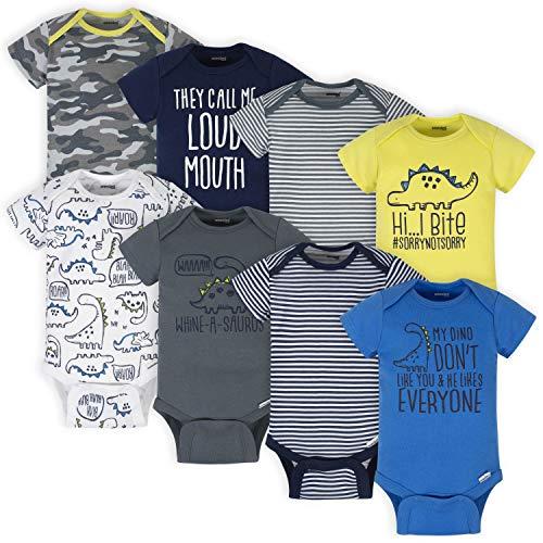 Onesies Brand Baby Boys' 8-Pack Short Sleeve Mix &...