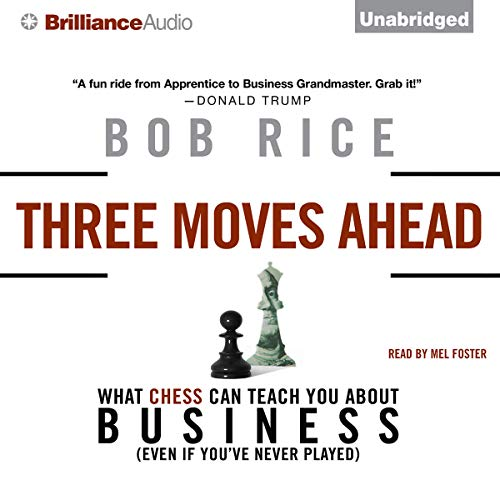 Three Moves Ahead audiobook cover art