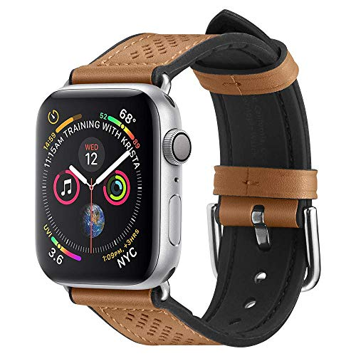 Spigen Retro Fit Compatible con Apple Watch Band para 44mm / 42mm Series 5/4/3/2/1 - Marrón