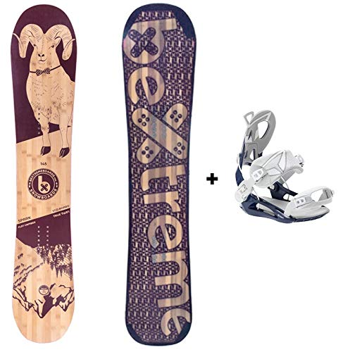Bextreme Pack Tabla Snowboard Mujer/Chica/niño Spark 145cm