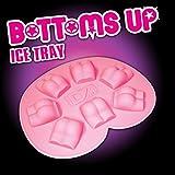 DZine Eiswürfel-Form Nackter Hintern Party-Gadget rosa Einheitsgröße