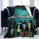 Hollywood Undead Swan Songs Blanket Throw Size Ultra Soft Flannel Fleece Blankets Warm Cozy Comforter Blankets Fall Winter Bedroom Blanket 60'x50'