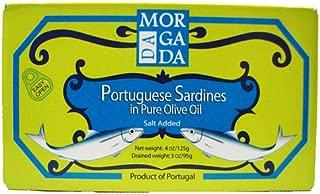 Da Morgada Portuguese Sardines in Pure Olive Oil 4 oz.