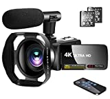 Best Vlogging Cameras - Video Camera 4K Camcorder with Microphone Vlogging Camera Review