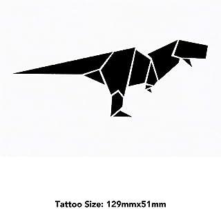 Large 'Origami Dinosaur' Temporary Tattoo (TO00020273)
