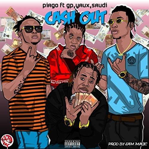 Piago feat. Gp, YAUX & Saudi