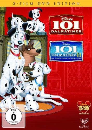 101 Dalmatiner / 101 Dalmatiner II: Auf kleinen Pfoten zum großen Star! [2 DVDs]