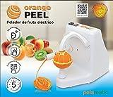 Pelamatic - Orange Peel, sbuccia frutta elettrico domestico, 24 W, bianco