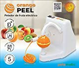 Pelamatic Orange Peel Domestica - peladores eléctricos (Universal electric peeler, Independiente, Blanco, Metal, Corriente alterna, 24 W)