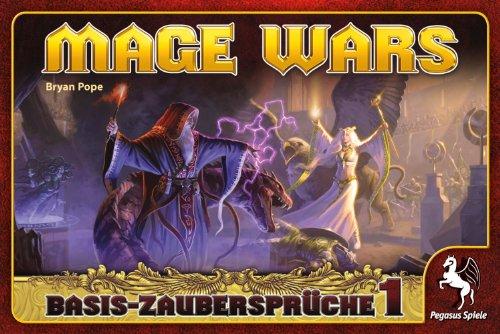 Pegasus Spiele 51861G - Mage Wars Zauberbuch 1