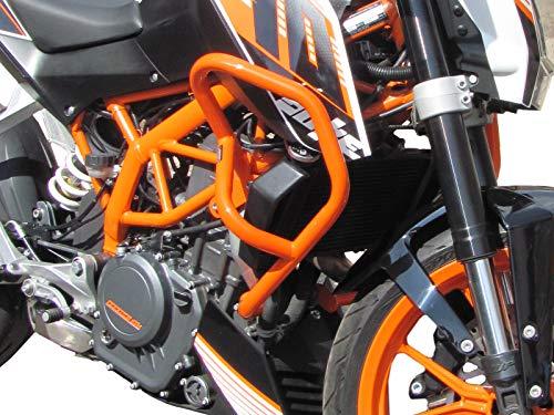 Sturzbügel/Schutzbügel HEED für Motorrad 390 Duke (2013-2016) - Orange