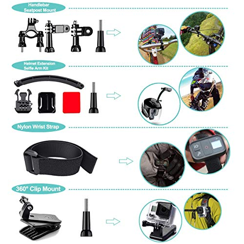 Product Image 3: 61 in 1 Action Camera Accessories Kit for GoPro Hero 9, 8, 7, 6, 5, and 4.
