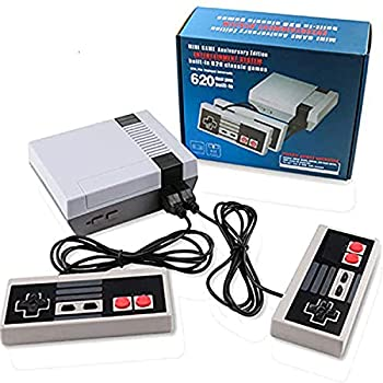 Classic Retro Game Console Mini Video Game System Built-in 620 Games with 2 NES Controllers