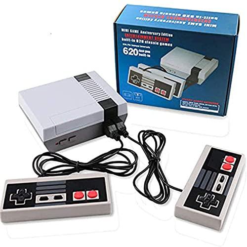 Classic Retro Game Console, Mini Video Game System (Grey)