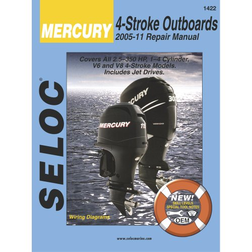 SELOC SERVICE MANUAL MERCURY & MARINER ALL 4-STROKE 2005-11
