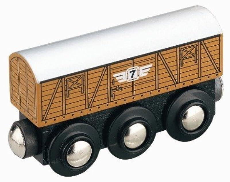 直感プーノオーラルオリジナル木製トレインシリーズ 家畜車 50818