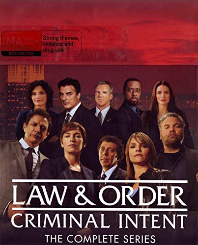 Ley y orden: Acción criminal / Law & Order: Criminal Intent (Complete Series) - 52-DVD Box Set ( Law and Order - Seasons 1-10 (Law & Order: [ Origen Australiano, Ningun Idioma Espanol ]