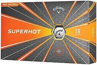 Callaway Golf Superhot Bold Matte Golf Balls (Pack of 15)