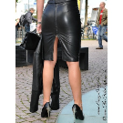 Lederrock DS-504 : Crazy-Outfits - Webshop für Lederbekleidung, Schuhe & mehr.