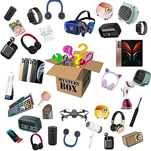 Vokkrv Mystery Box Lucky Box Mystery Boxes Per Giocattoli, Super Conveniente, Eccellente Rapporto Qualità-Prezzo, Primo Arrivato, Regalati Una Sorpresa o Come Regalo Per Un Bambino, Battito Cardiaco!