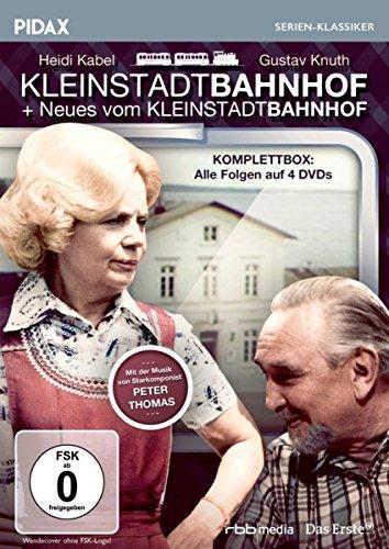 Kleinstadtbahnhof + Neues vom Kleinstadtbahnhof (Komplettbox) / Die komplette 26-teilige Kultserie (Pidax Serien-Klassiker) [4 DVDs]
