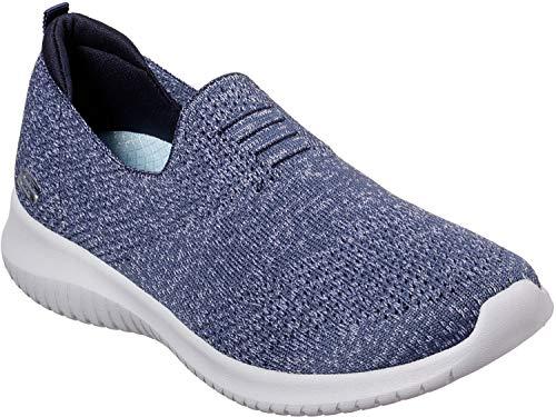 Skechers - Womens Ultra Flex - Harmonious Shoes, Size: 10 W US, Color: Navy