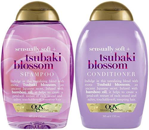(OGX) Organix Sensually Soft Tsubaki Blossom Shampoo & Conditioner Duo, 13 Oz each