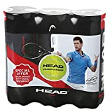 Head 3B T.I.P. Red Pelota de Tenis, Adultos Unisex, Multicolor, Talla única, 9 bolas