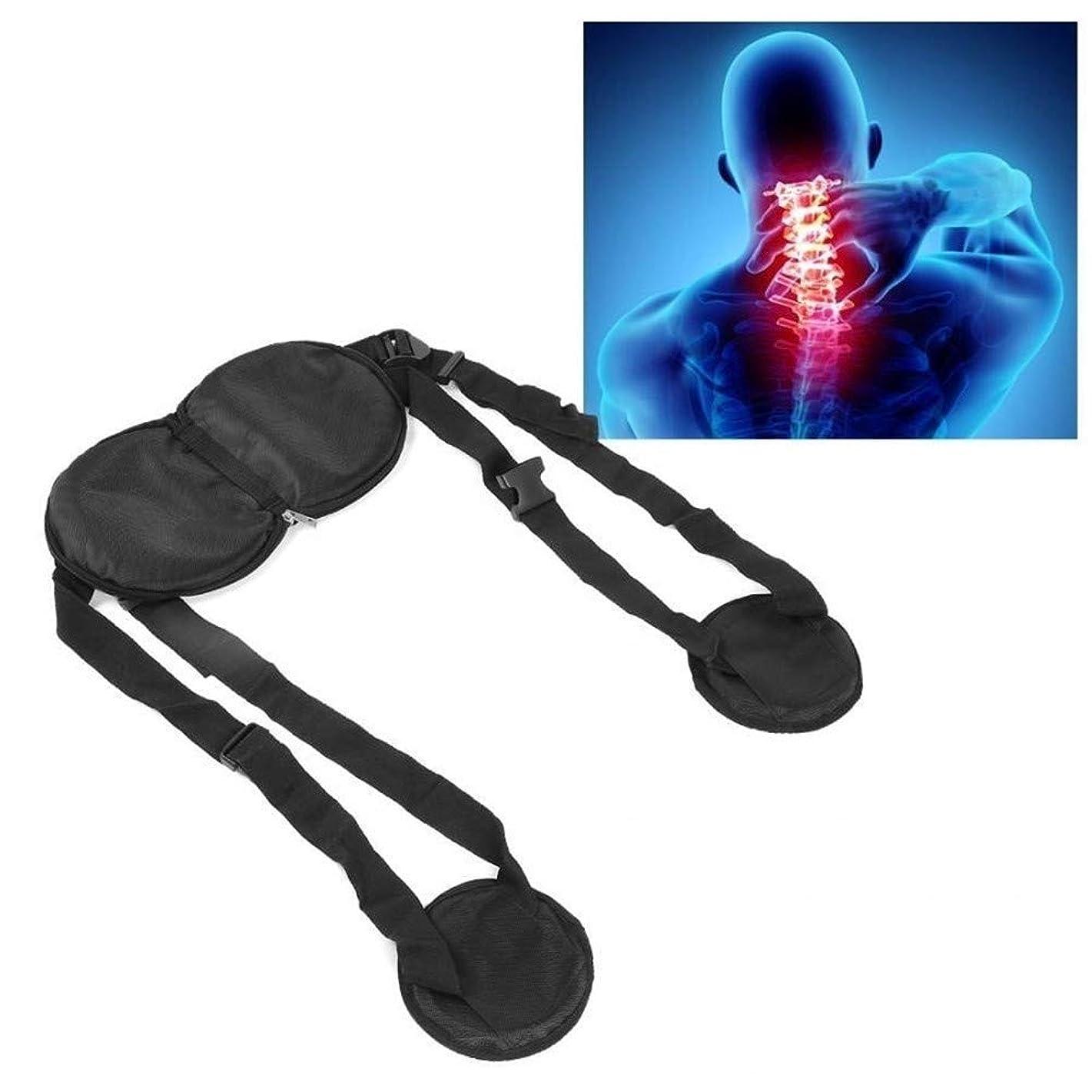 一致する気になる消去RZDJ 補正首の痛み子宮頸神経はハンモックヘルスケアネックマッサージャー中括弧がサポートするリラックス和らげます