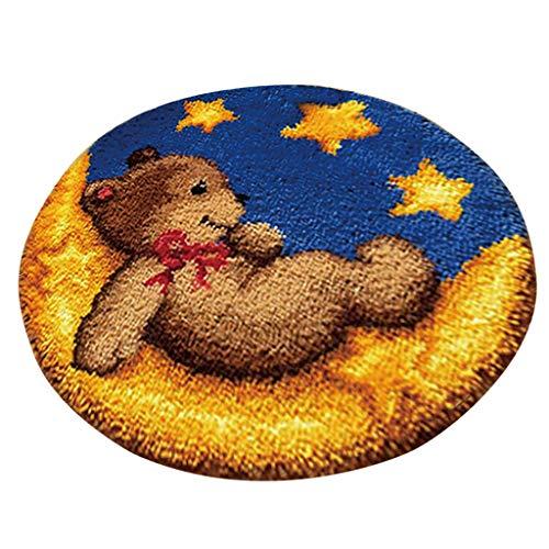 joyMerit Kits De Gancho De Seguridad Christmas Dog Cat Bear Ladybug Alfombra...