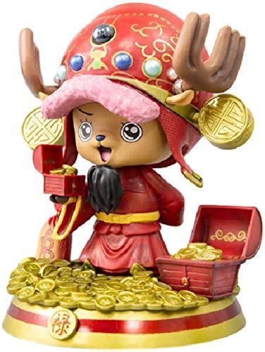 Ltong Lindo Anime de una Pieza Figura de PVC Tony Tony Chopper Adornos de una Pieza de Juguete de Modelos coleccionables 20Cm decoración de la Torta del Coche