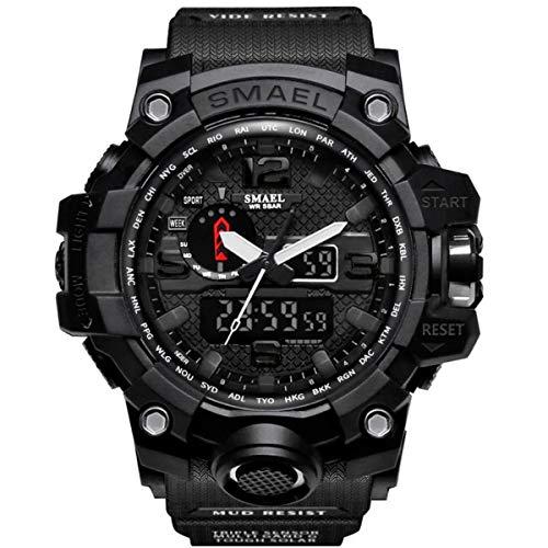 Relógio Masculino G-Shock Smael Militar Exercito Prova Dagua - All Black