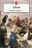 Guerre et paix, tome 2 - LGF - Livre de Poche - 01/03/1972