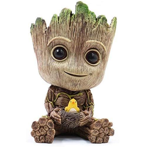 Baby Groot - Soporte para bolígrafos, diseño de la galaxia