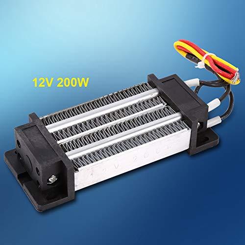 PTC-Heizelementheizung - 200 W DC 12 V Elektrisch Isolierte Keramik-Thermostat-Hochleistung für Klimaanlagen, Luftschleiermaschine, Trocknungsmaschine, Trockner, Autos