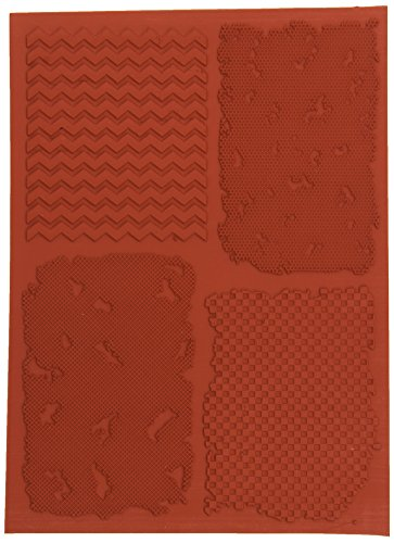 IndigoBlu A5 Itsy Bitsy Achtergronden Rubber Stempel - Rood