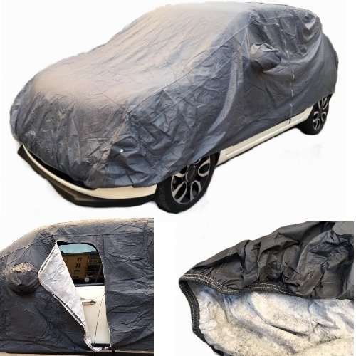 COMPATIBLE WITH FORD Focus 1.5 TDCi 105 CV SeS ECOnetic Bus. CAR COVER WATERPROOF WITH LINING SIZE L ANTI-TEAR COVER ANTI-SCRATCH 482X196X140CM UNIVERSAL RAIN COVER FOR CAR