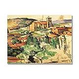 Tamengi Village of Gardanne von Paul Cezanne,