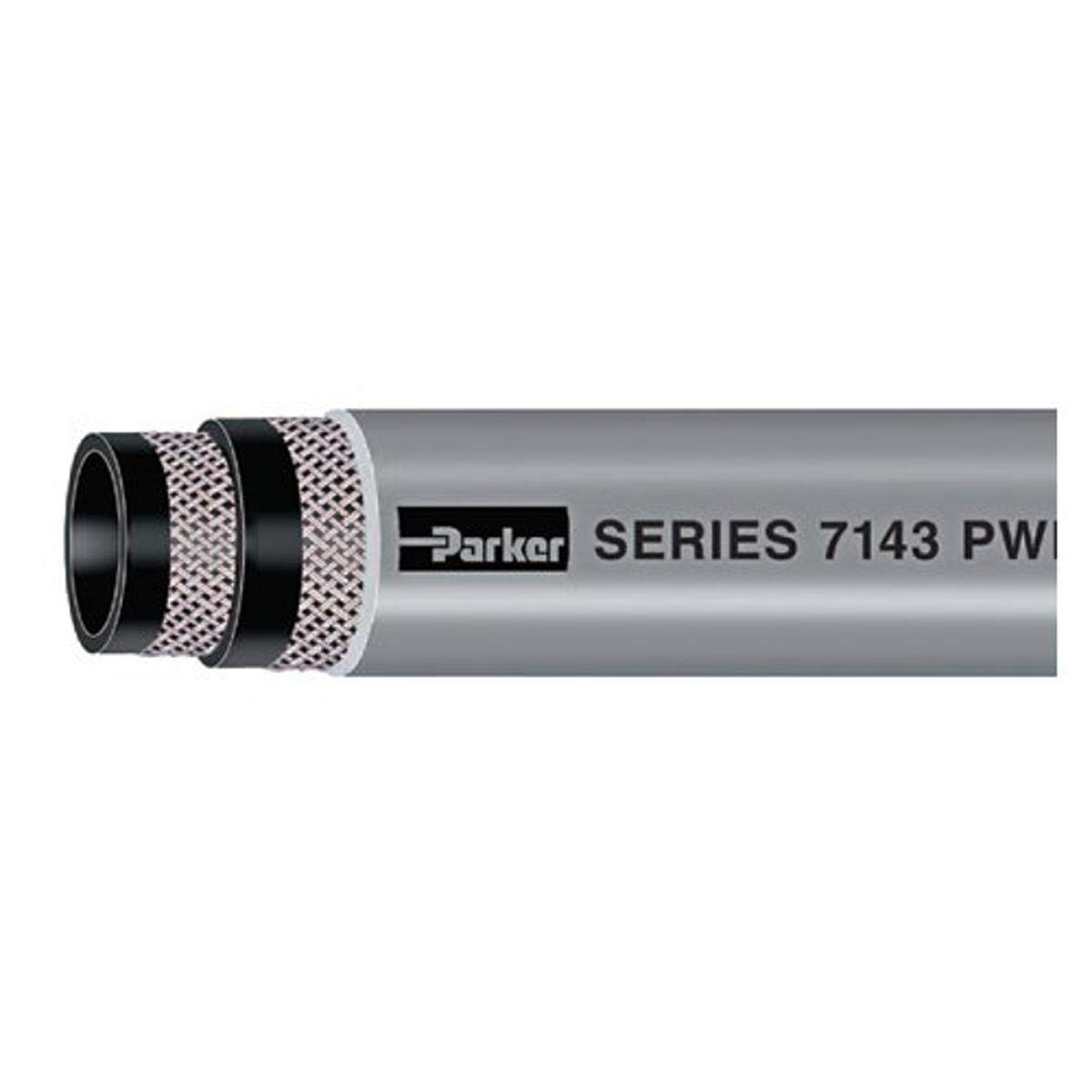Parker Hannifin 7143-382GY Black EPDM Discount is also underway Hose Austin Mall Gray Wash-Down PWD