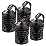 Arrays for Detox Foot Bath, 2/4/10pcs Replacement Array for Ionic Foot Detox Machine Spa System, Black Detox Foot Bath Arrays Stainless Steel Aqua Ionic Cleansing Accessory