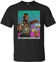 Mr T Drinking Iced Tea Ice Cube Shirt Men T-Shirt (3XL, Black)