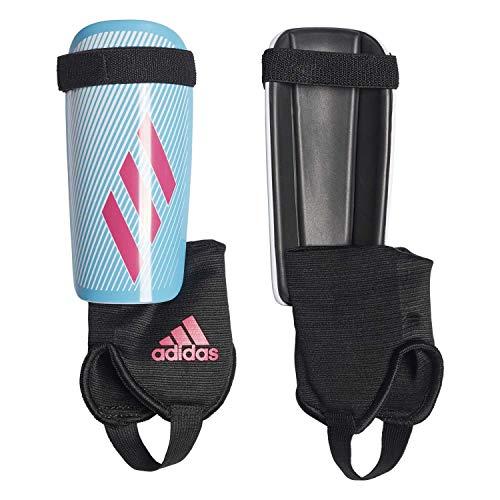 adidas Jungen X Youth Schienbeinschoner für Fußball, Bright Cyan/Shock pink/Black, M