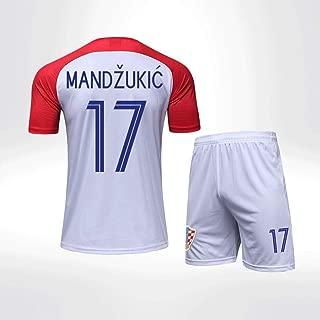 Croatia National Football Team Men's Football Jerseys Set World Cup Home Kit T-Shirt Soccer Jersey & Shorts White Red