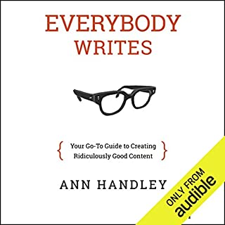 Everybody Writes audiobook cover art
