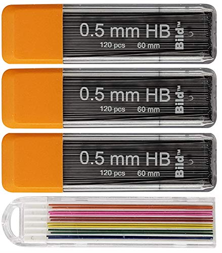 Bild Premium Mechanical Pencil Lead Refills (HB, 0.5 mm)