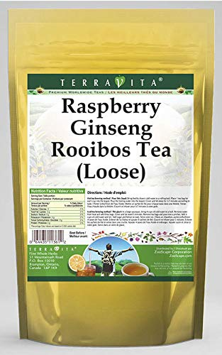Raspberry Ginseng Rooibos Tea Loose 4 Houston Mall Excellent oz 2 Pa ZIN: - 543019